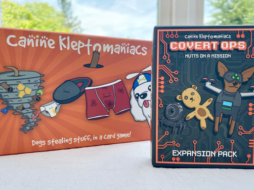 Canine Kleptomaniacs – Covert Ops Expansion Card Game Review