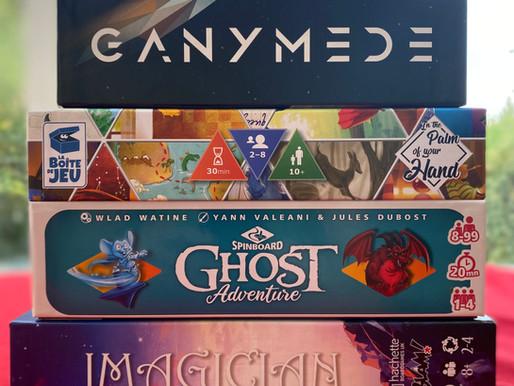Hachette Games Top 5 Games.