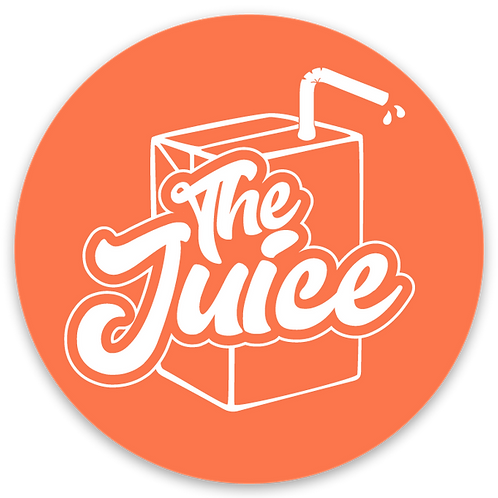 Sticker - Juicbox Logo on Orange