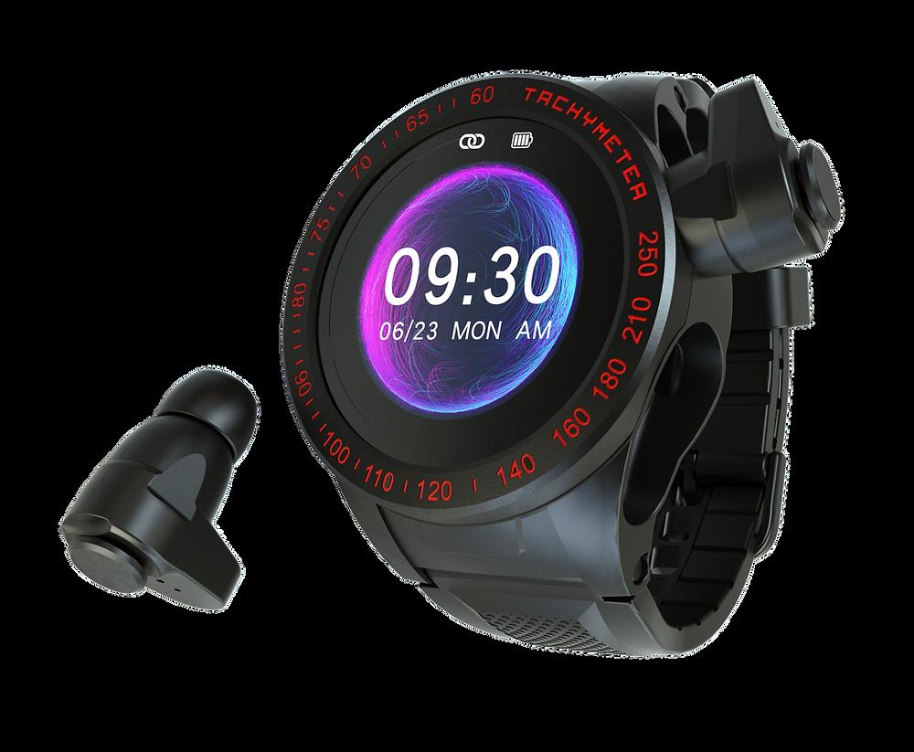 Wearbuds Watch render