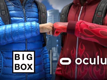 Facebook acquisisce BigBox VR, punta sempre di più sulla realtà virtuale