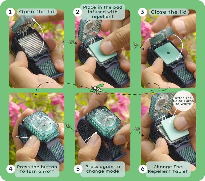 WANDIAN istruzioni per l'uso