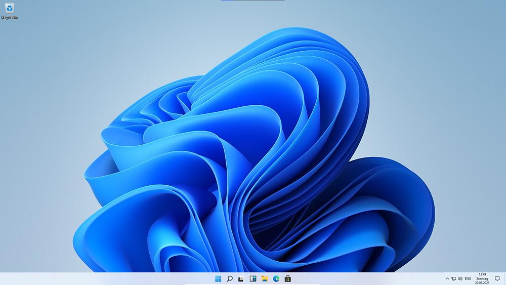 Il desktop di Windows 11
