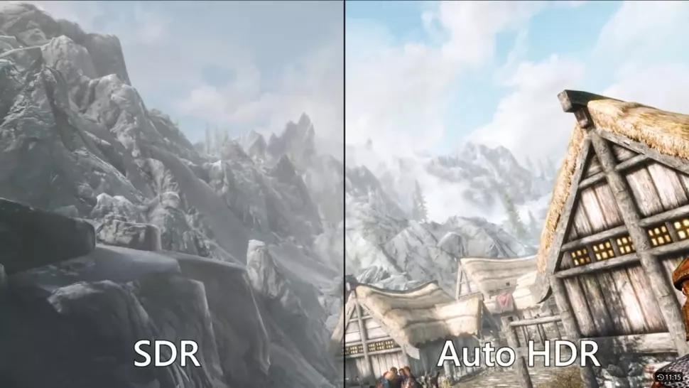 HDR automatico su Windows 11
