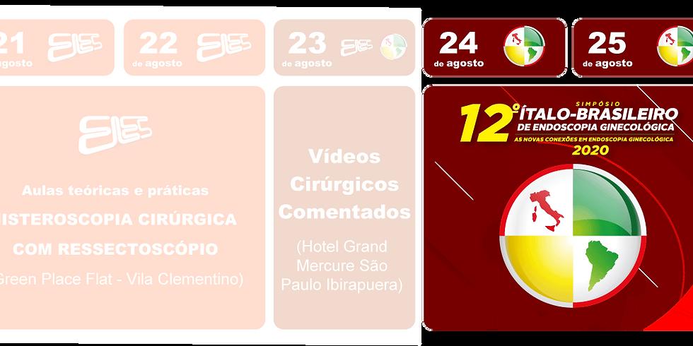 Inscrição para Simpósio Ítalo Brasileiro