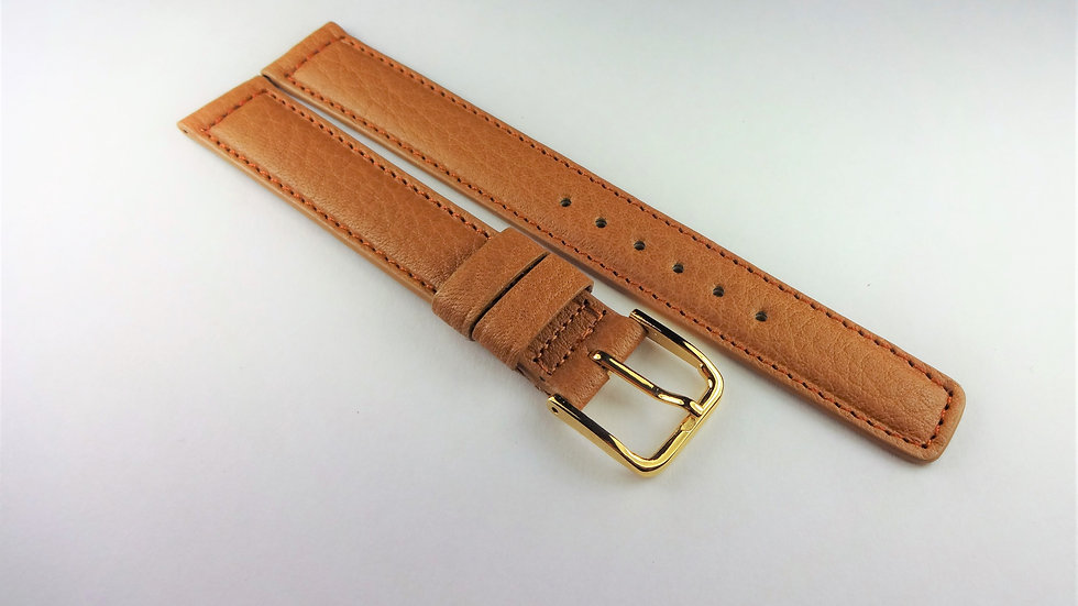 Hamilton 15mm Tan Genuine Waterproof Leather