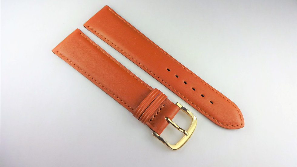 Replacement 20mm Tan Genuine Leather