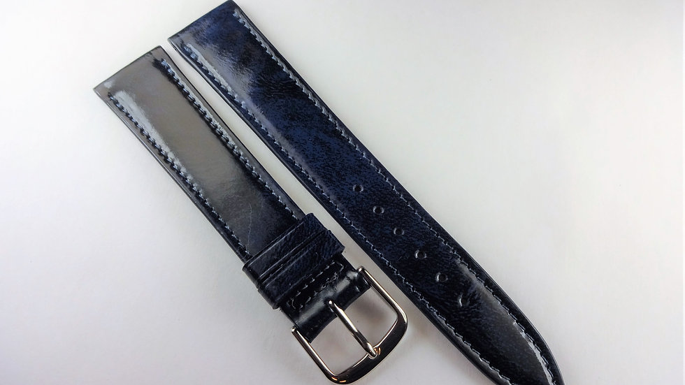 Replacement 18mm Blue Genuine Leather