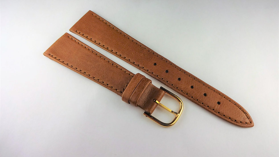Hadley-Roma 19mm Brown Genuine Leather