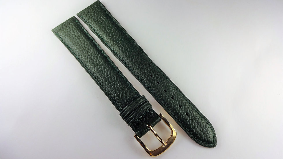 Replacement 18mm Green Genuine Calfskin