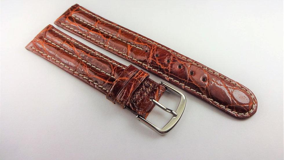 Cole Haan 18mm Brown Genuine Crocodile