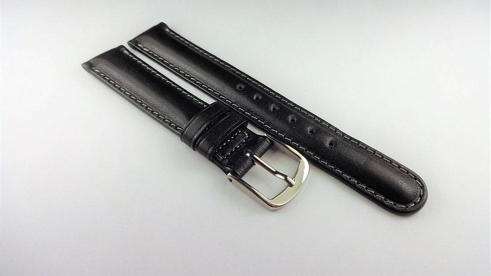 Tissot 15mm Black Western Leather