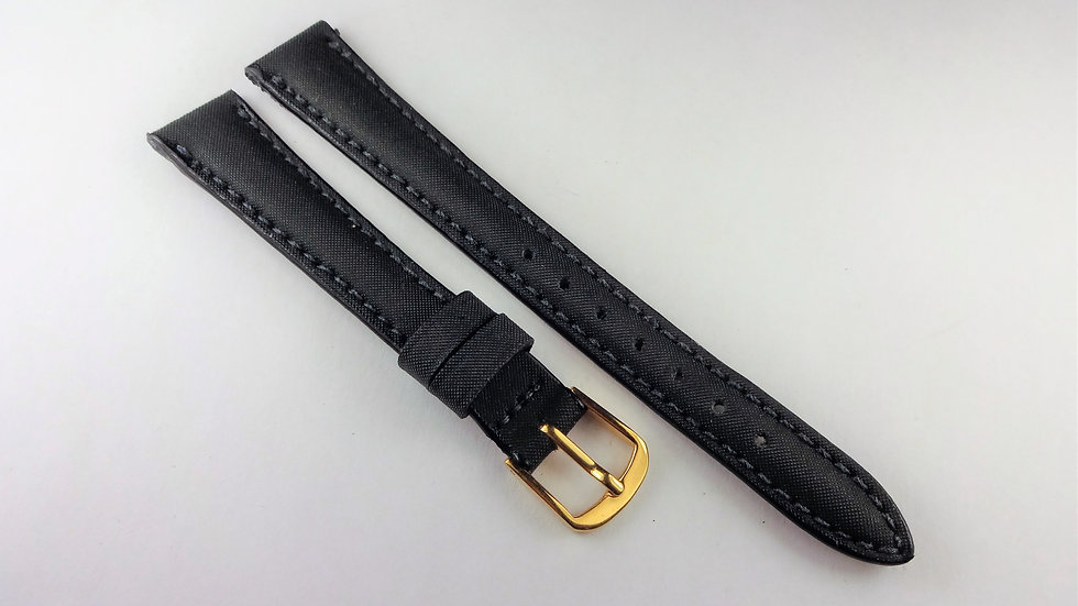 Replacement 13mm Black Genuine Leather Satin Top