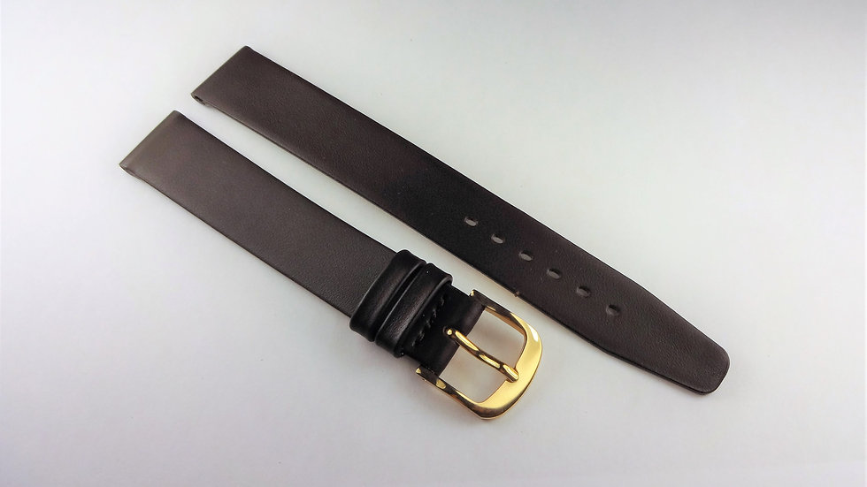 Replacement Dark Brown 15mm Genuine Leather