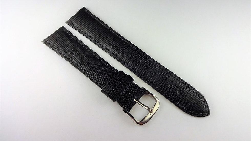 Replacement Black 18mm Genuine Calfskin