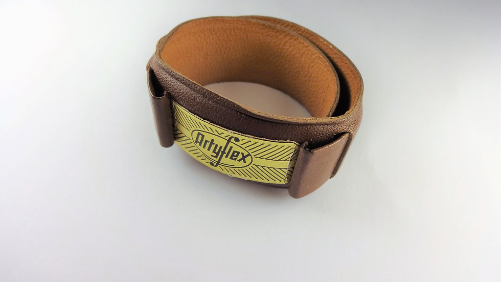 Replacement Artyflex 17mm Brown Genuine Leather