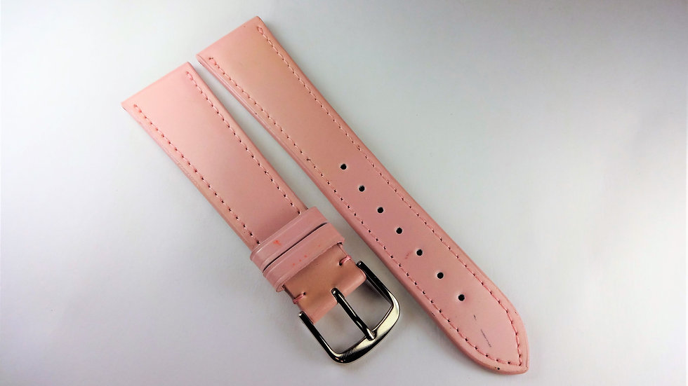 Replacement 20mm Pink Genuine Leather