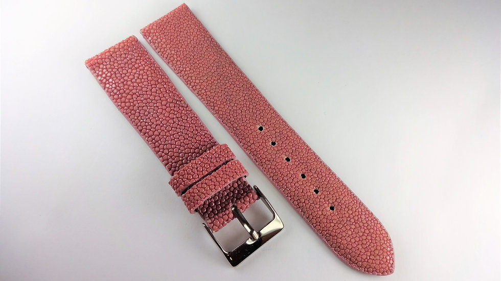 Replacement 20mm Pink Genuine Stingray