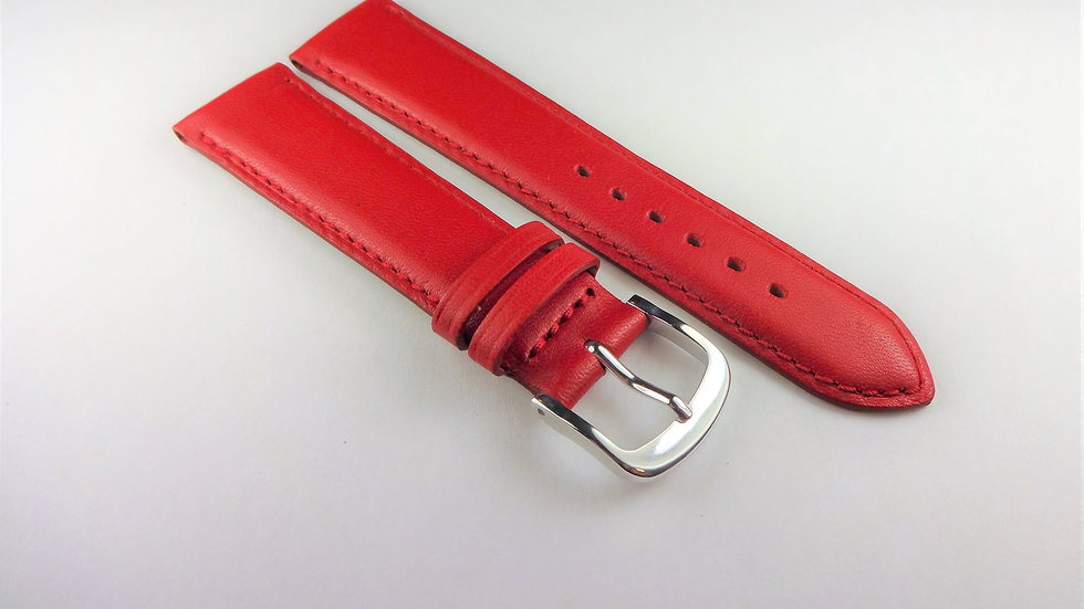 Replacement Box Leather 18mm Red Short