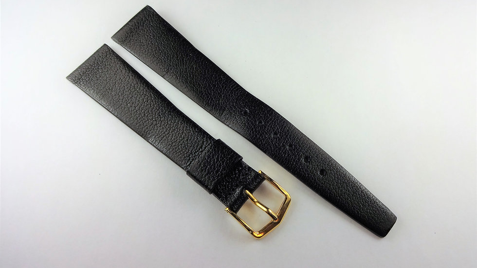 Replacement 18mm Black Genuine Expo Calf Leather