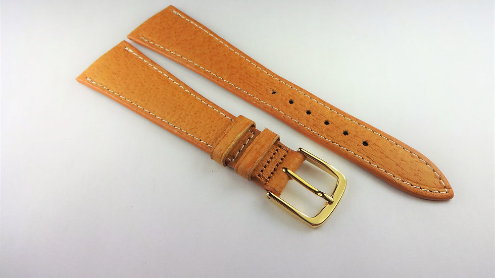 Replacement 21mm Tan Babypig Contrast Stitching