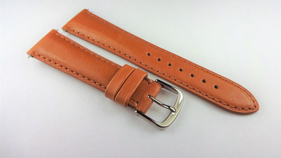 David Yurman 18mm Tan Genuine Leather