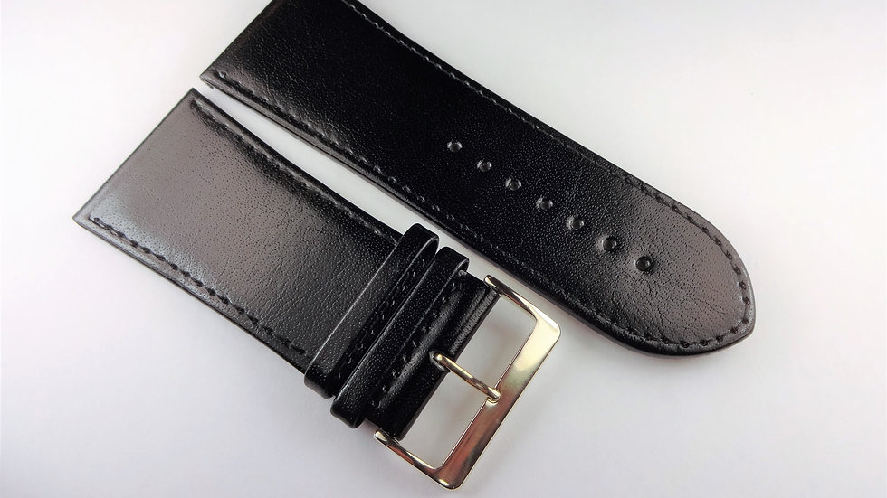 Replacement 34mm Black Genuine Leather