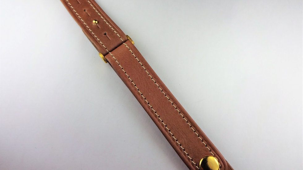 Replacement 17mm Brown Genuine Leather