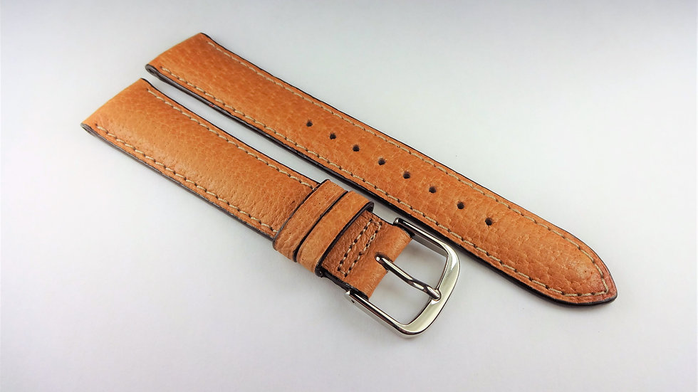 Barneys New York 18mm Tan Genuine Leather