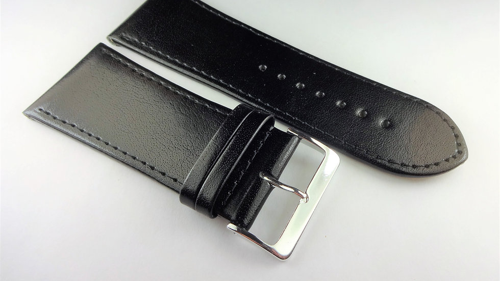 Replacement 32mm Black Genuine Leather
