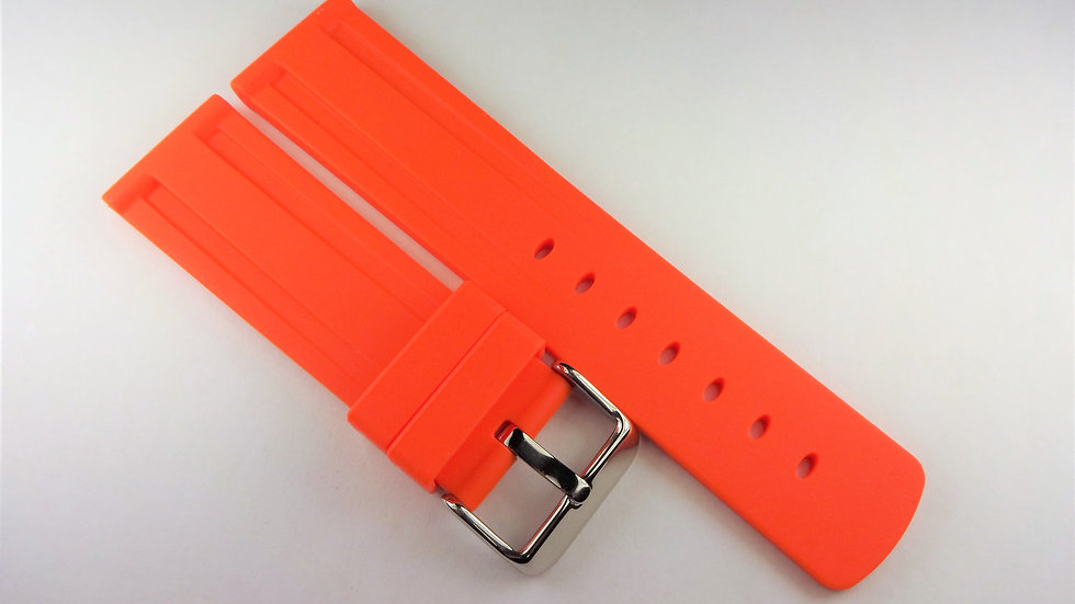 Replacement 22mm Orange Silicone