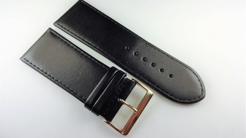 Replacement 30mm Black Genuine Leather