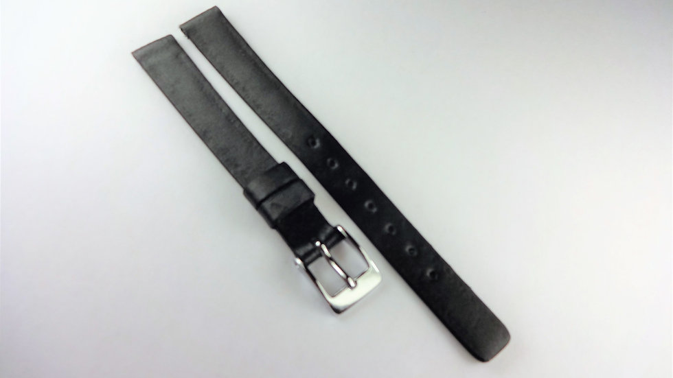 Replacement 10mm Black Genuine Leather Satin Top
