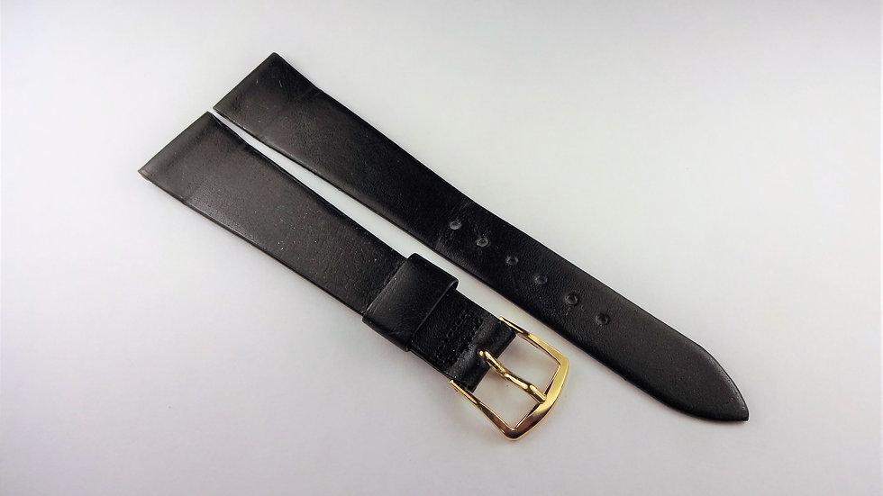 Replacement Speidel 17mm Black Genuine Calfskin