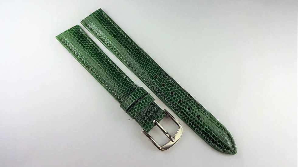 Replacement Green 15mm Genuine Lizard