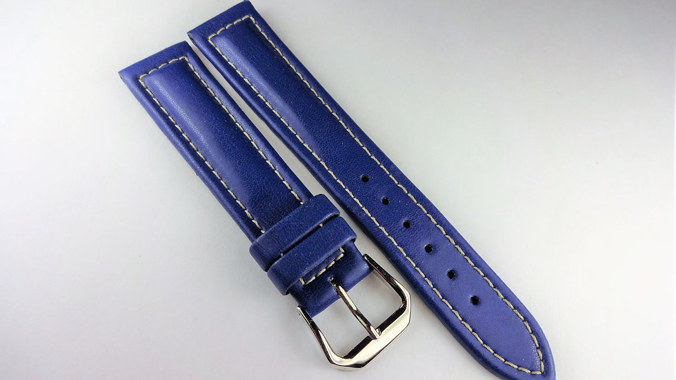 Replacement Hoders 18mm Blue Synthetic Leather