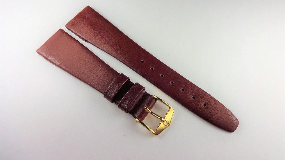 Replacement Hirsch 19mm Wine Genuine Diamond Leather