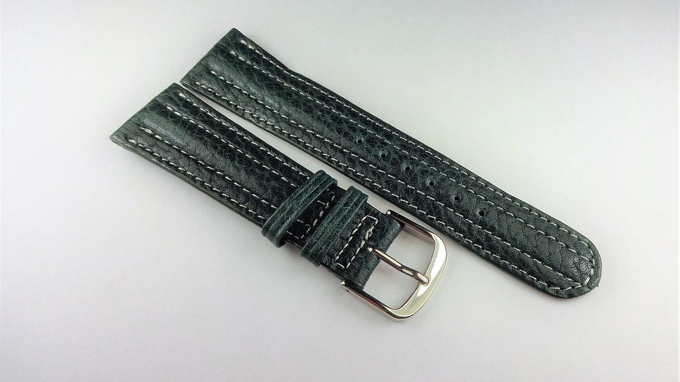 Replacement 19mm Green Genuine Pampa Leather