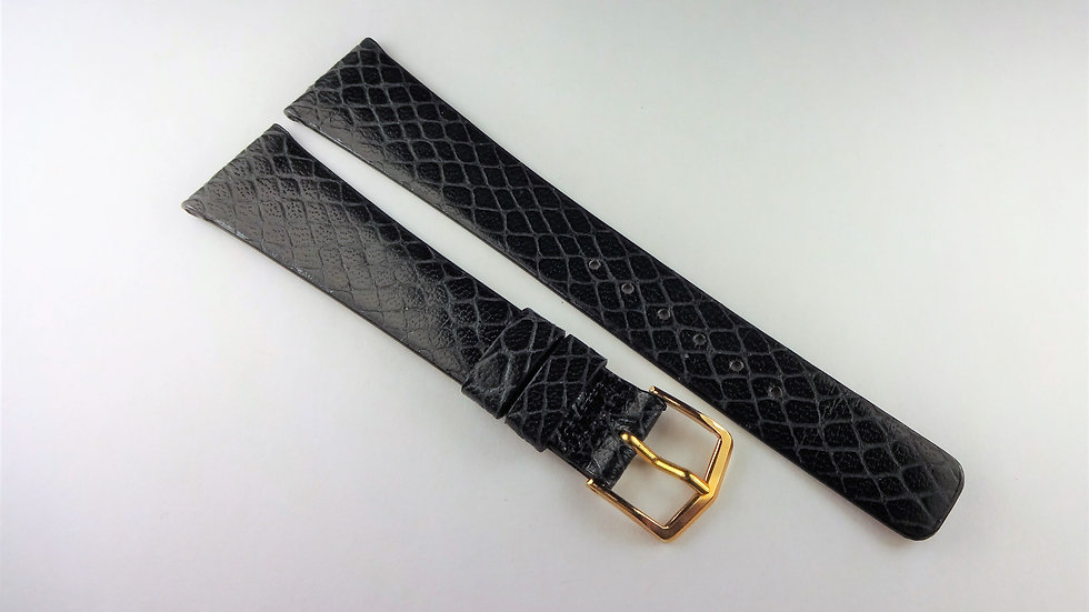 Replacement 19mm Gray Genuine Snakeskin