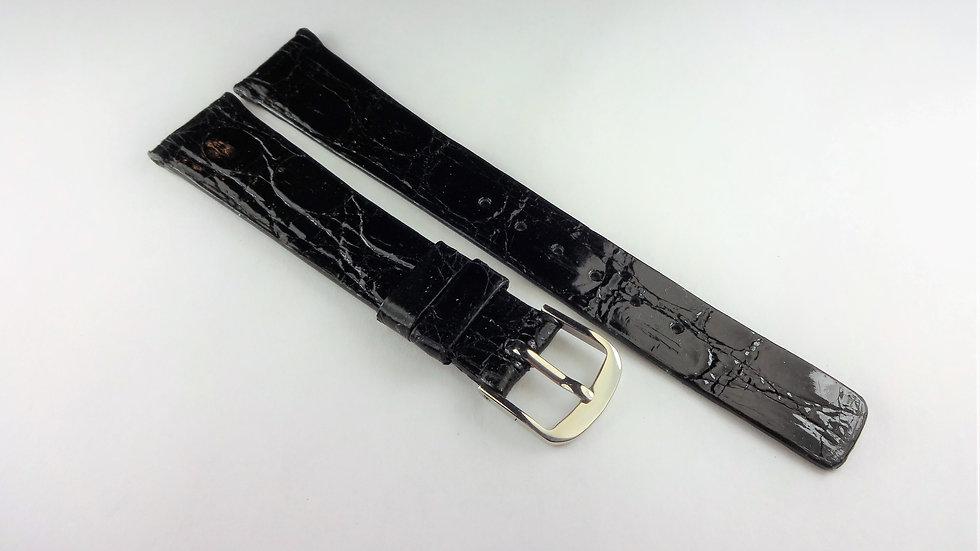 Bueche-Girod 16mm Black Genuine Crocodile