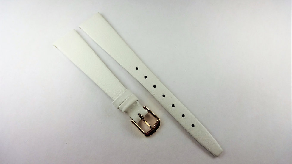 Wenger 14mm White Genuine Leather