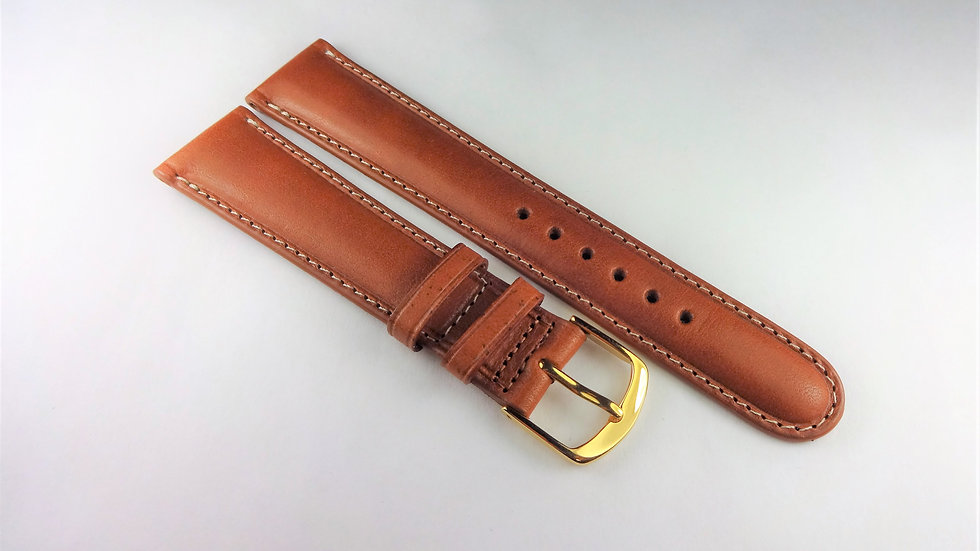 Replacement 19mm Brown Genuine Western Leather