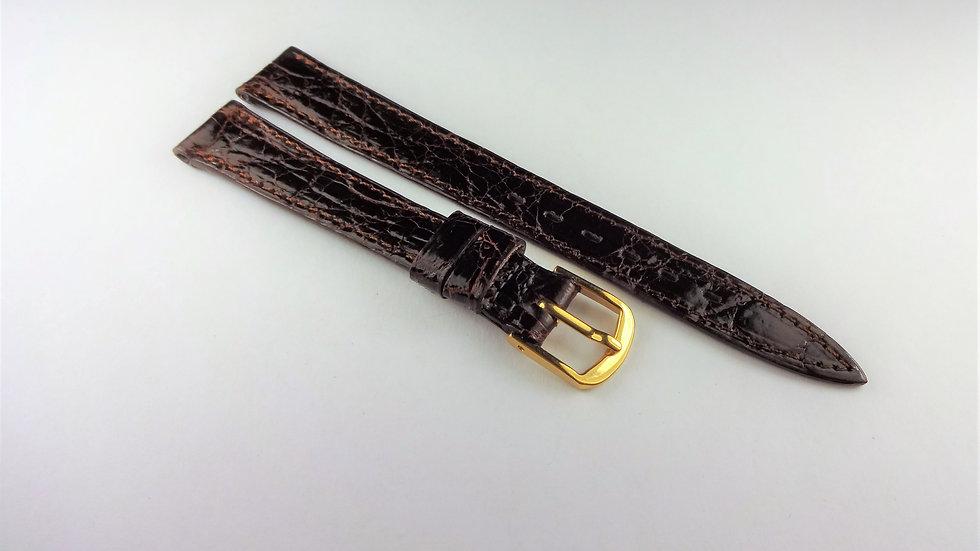 Longines 12mm Brown Genuine Crocodile