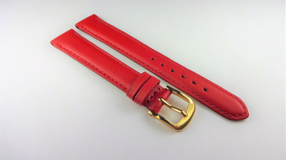 Replacement Box Leather 14mm Red Short