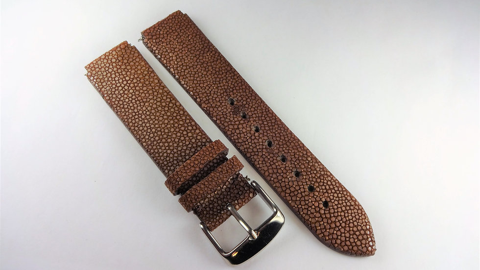 Replacement 18mm Brown Genuine Stingray