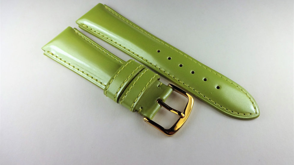 Krieger 19mm Pistachio Genuine Leather