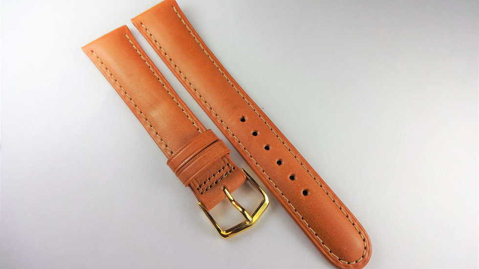 Replacement 18mm Tan Genuine Western Leather