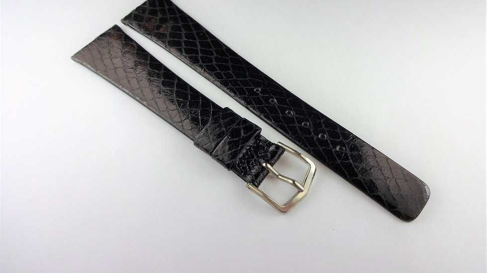 Replacement 19mm Black Genuine Snake