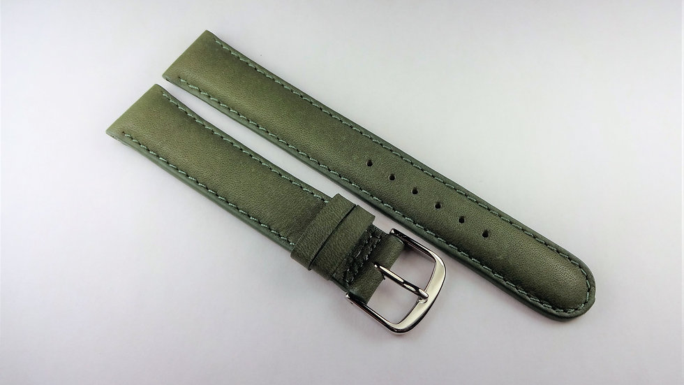 Replacement 17mm Green Genuine Pacific Waterproof Leather