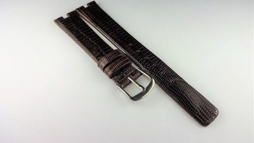 Bulova 14mm Brown Genuine Teju Lizard